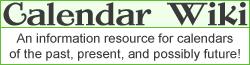 Calendar Wiki