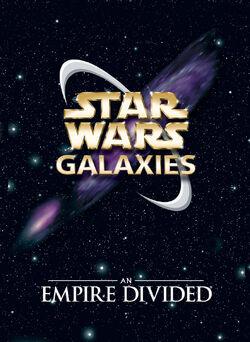 Star Wars Galaxies Box Art