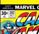 Captain America Vol 1 202