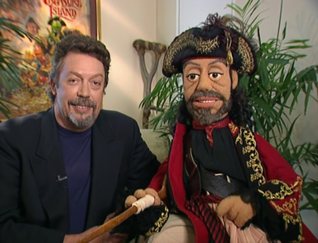 Tim Curry Muppet Treasure Island Interview