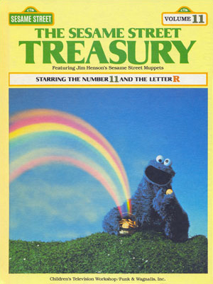 Book Treasury on sesame street letter b