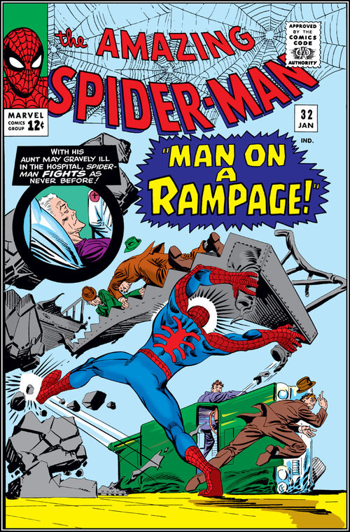 Man 32 Indicted In Alleged Misconduct With 14 Year Old: Amazing Spider-Man Vol 1 32