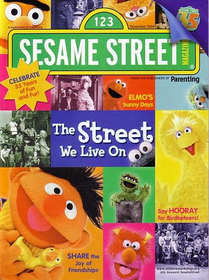 Sesame Street Magazine September 1976