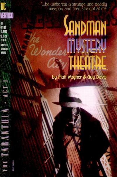 Happy 75th Anniversary Sandman (Wesley Dodds) Sandman_Mystery_Theater_1