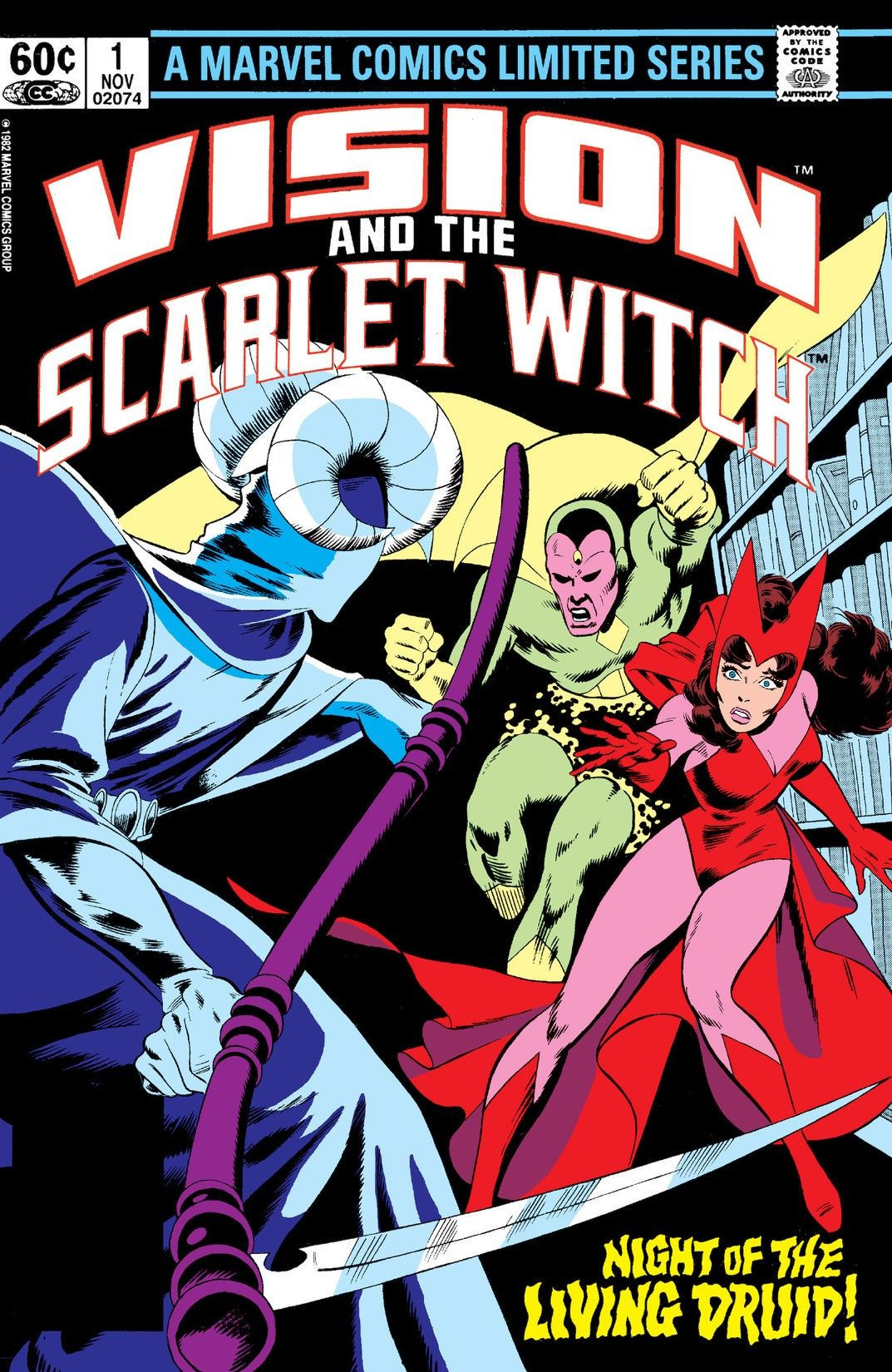 Vision and the Scarlet Witch Vol 1 - Marvel Comics ...