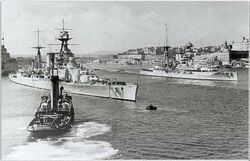 HMS Hood and HMS Barham