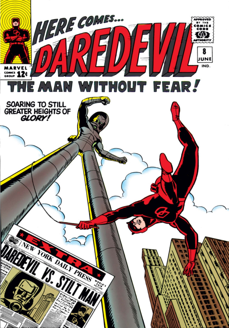 Stilt-Man - season 2 of Daredevil on Netflix
