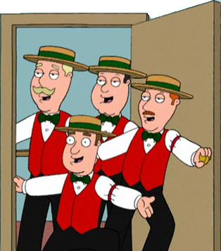 Barber Quartet : Barbershop Quartet - Family Guy Wiki