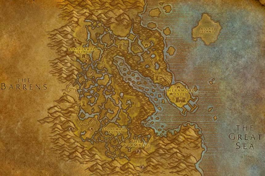 wow how to get to dustwallow marsh from stormwind