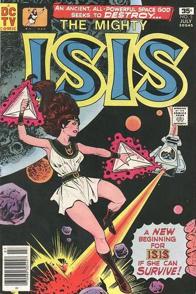 Isis Vol 1 5 - DC Comics Database