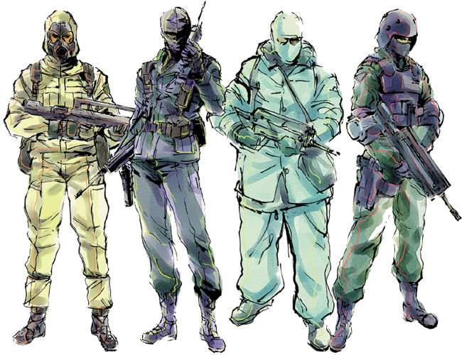 Metal Gear Solid Character Names Metal Gear Solid Rising