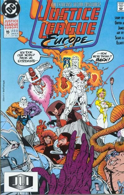 Justice League Europe Vol 1 19 Dc Comics Database