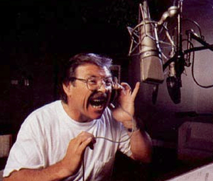Frank Welker Frank Welker in the recording