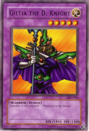 Giltia the d knight yu gi oh it s time to duel