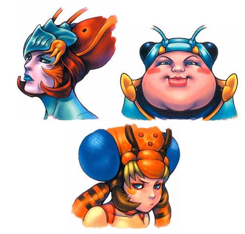メーガス三姉妹