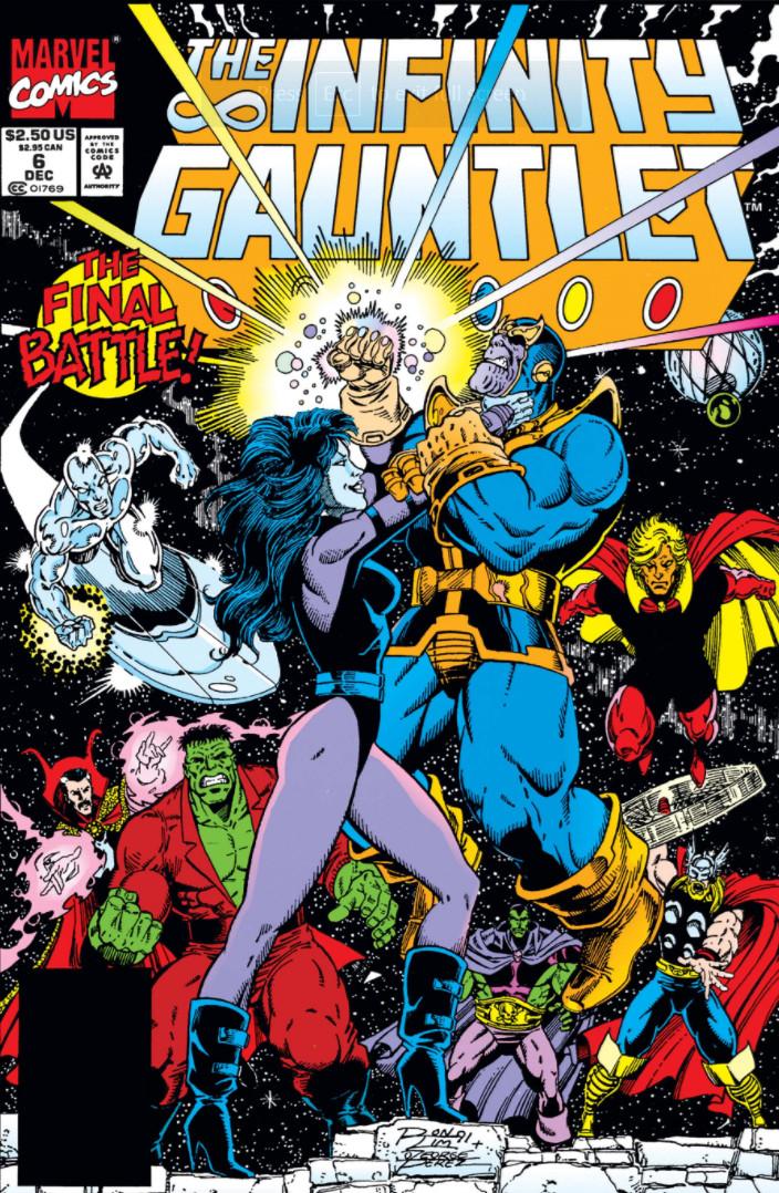 Infinity Gauntlet Vol 1 6 Marvel Comics Database