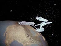 Enterprise Erdähnlicher Planet
