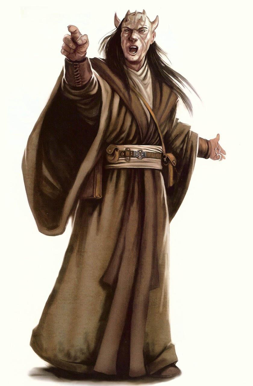 Zabrak - Wookie... Zabrak Jedi And Sith