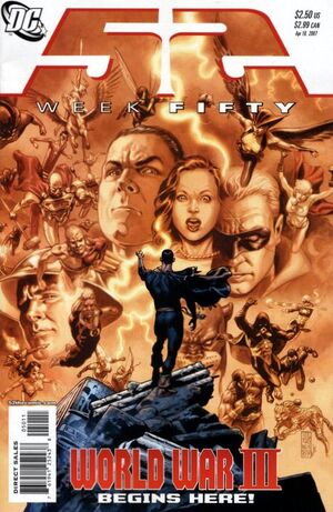 Cover for 52 #50 (2007)