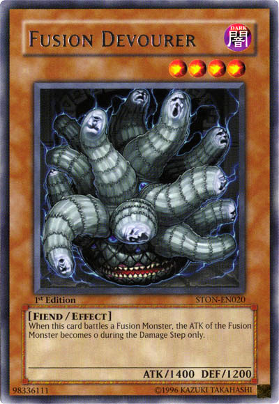 Fusion devourer yu gi oh it s time to duel