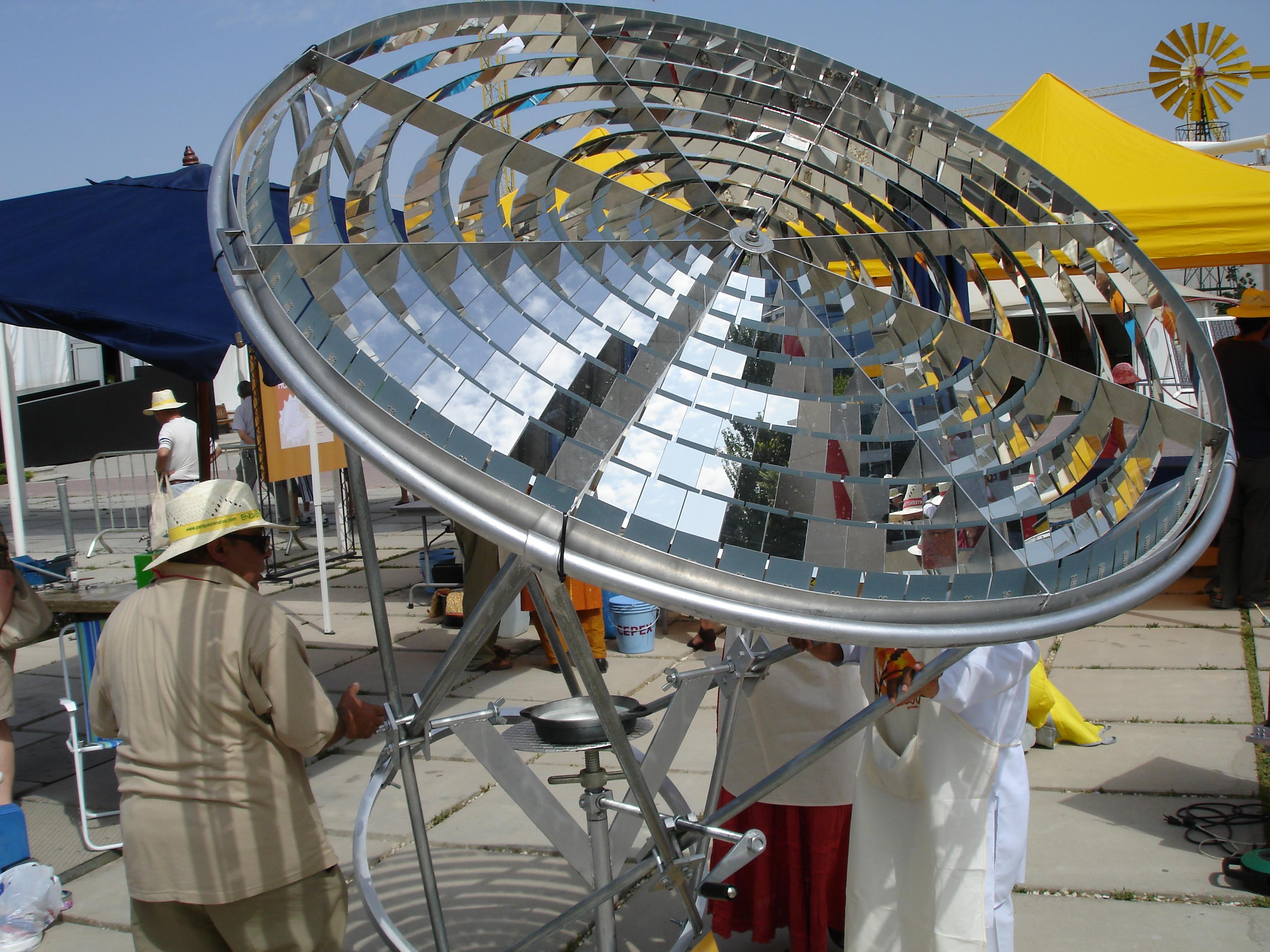 Солнечные концентраторы своими руками видео