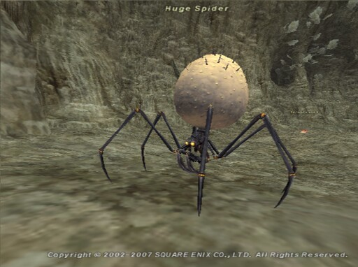 Huge Spider Ffxiclopedia The Final Fantasy Xi Wiki