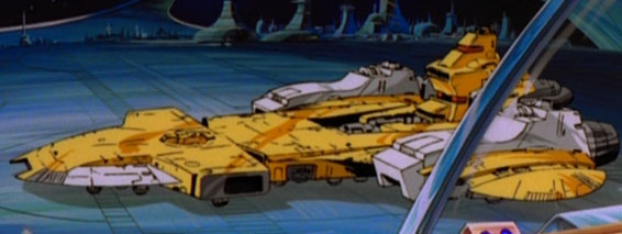 Autobot shuttle - Teletraan I: the Transformers Wiki - Age ...