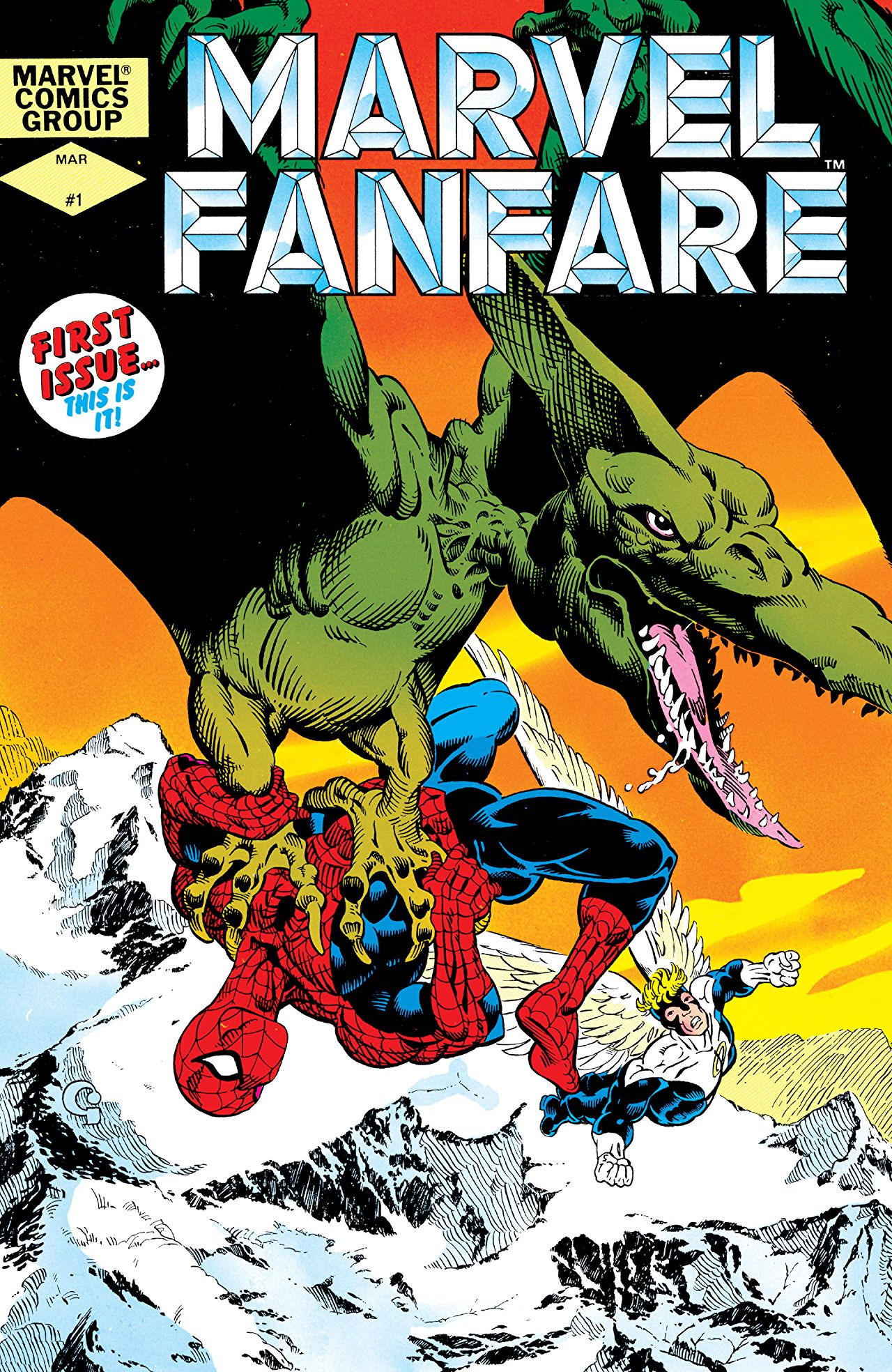 Marvel Fanfare No. 2 of 6, The Hulk, The Wendigo and Wolverine 1996 Fine