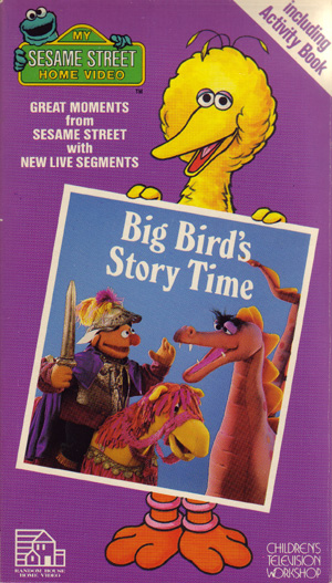Big Bird S Story Time Muppet Wiki