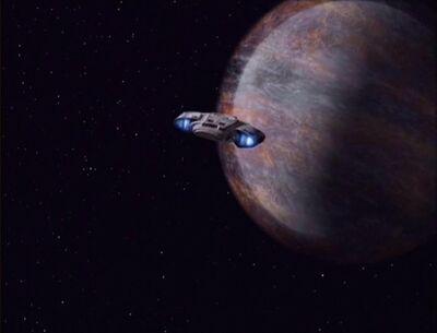 Defiant fliegt nach Gaia
