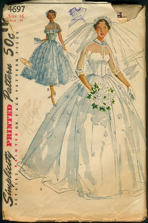 Bridal Vintage Sewing Patterns