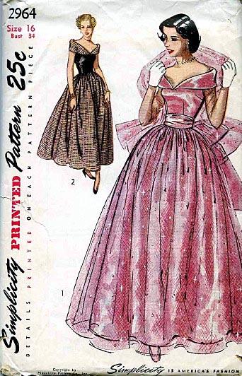 Simplicity 2964 Vintage Sewing Patterns