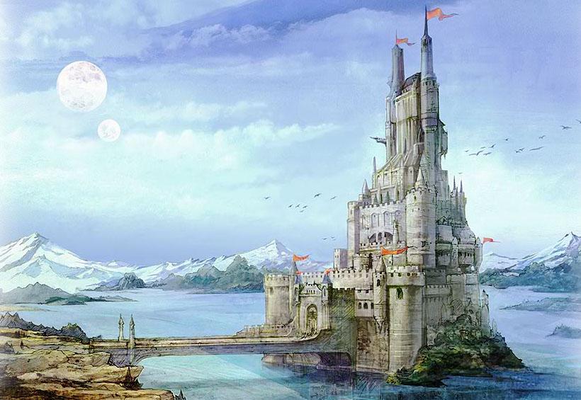 final fantasy castle