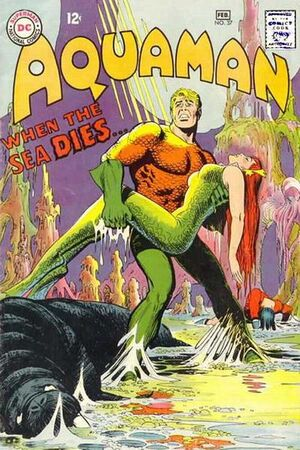 Cover for Aquaman #37 (1968)