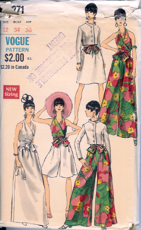 Vogue 7271 Vintage Sewing Patterns