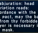 Wyrmal Abjuration: Head