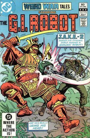 Cover for Weird War Tales #113 (1982)