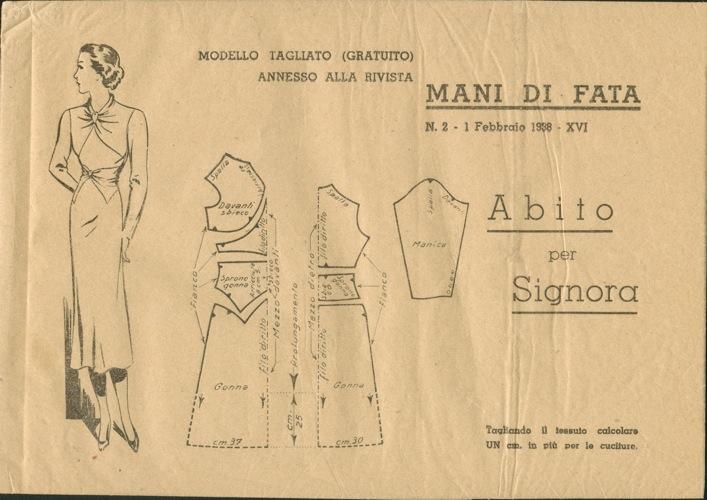 Mani Di Fata February 1938 Vintage Sewing Patterns