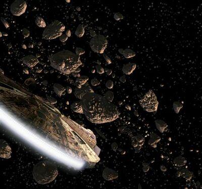 Hoth asteroid field btm