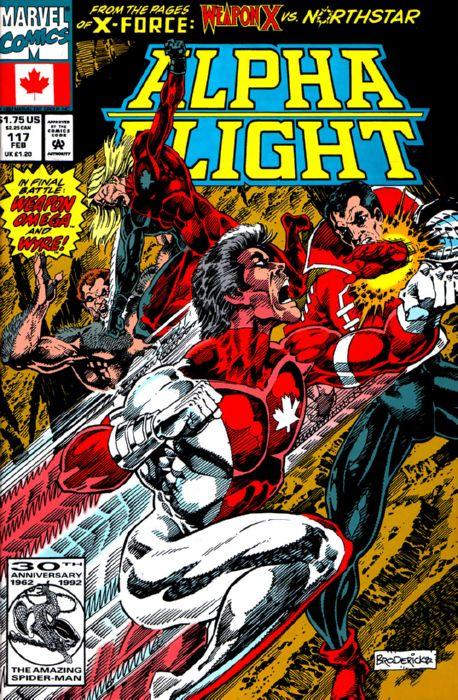 Alpha Flight Vol 1 117 Marvel Comics Database Wikia