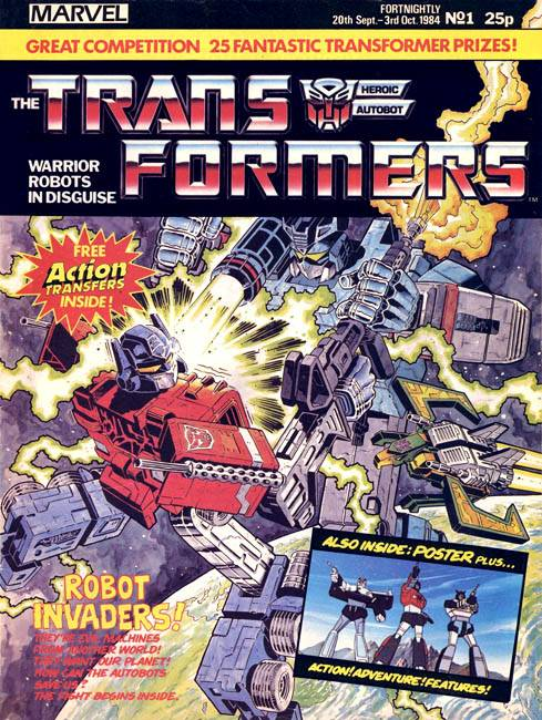 TF UK #1 Cover