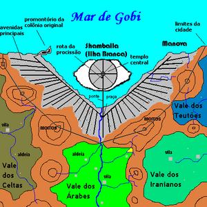 Mapa shamballa