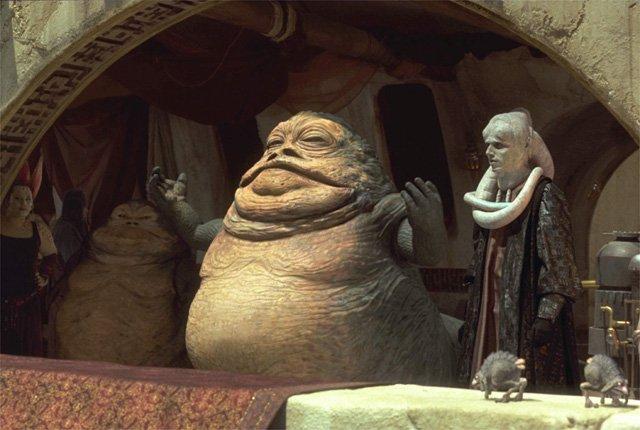 Jabba Desilijic Tiure - Wookieepedia - Wikia Jabba The Hutt And Oola