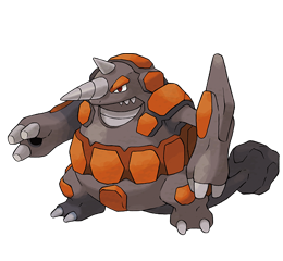 Las guías de Ere: The Legend of Pokémon (Sceptile, Gardevoir, Vaporeon, Rypherior, Mismagius y Emboar) Rhyperior
