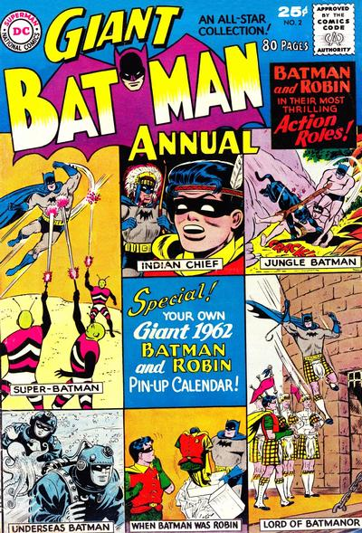 Cover for batman annual 2 1961