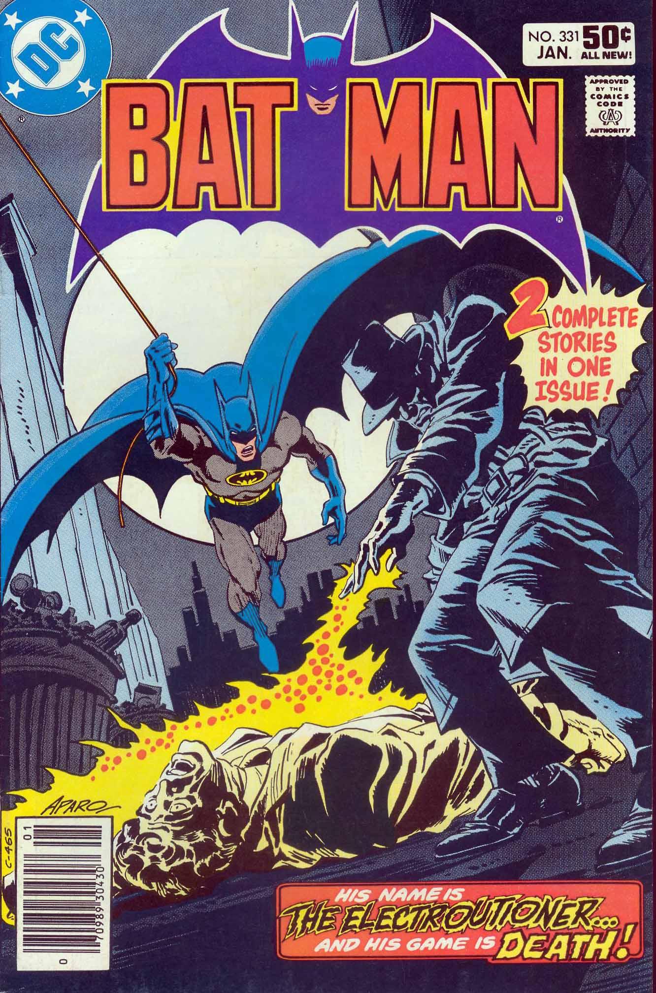 Batman Vol 1 331 Dc Comics Database
