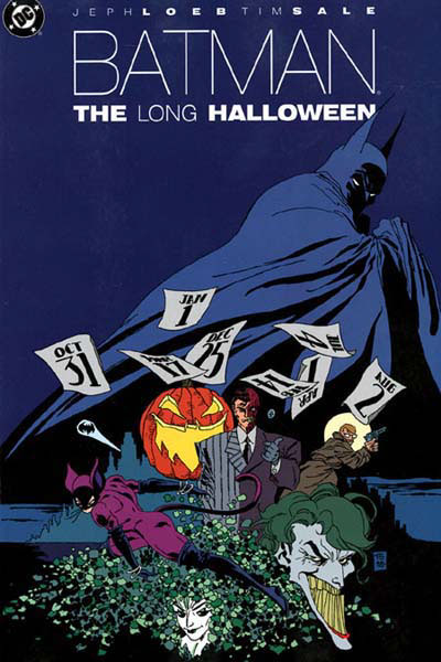 Comic Book Cover Art Sale : Batman the long halloween dc comics database