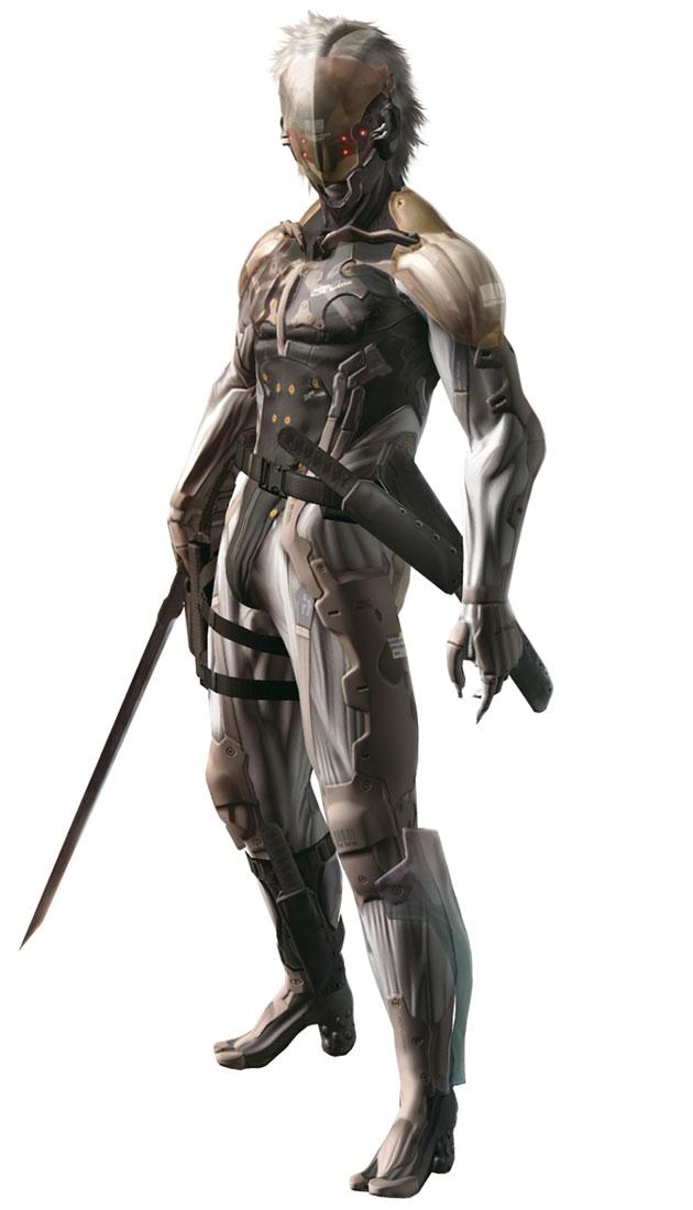 Raiden S First Cyborg Body The Metal Gear Wiki Metal