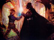 Luke Skywalker & Darth Vader