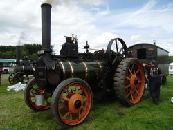 McLaren traction engine no.127